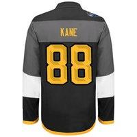 кейн звезда джерси оптовых-2016 хоккей трикотажные изделия Все звезды Блэкхокс # 88 Кейн лучшее качество, лед зимний Джерси, вышивка заказ смешивания