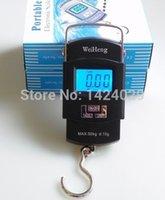 Wholesale Scale Oz Kg - Hot selling Digital Lage Scale Portable 50KG 5g Backlight Wide Handle Hook Scale unit KG LB OZ