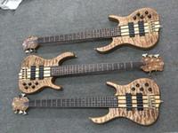 pont de basse électrique achat en gros de-2018 Nouvelle arrivée 5 cordes Ken Smith guitare basse Ken Smith guitare basse électrique Wilkinson gold Bridge