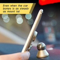 Wholesale magnets items for sale - 2017 New items in Metal Cat Finger Ring Strong Magnetic Magnet Rotating Universal Car Use Phone Holder GPS Mount Desk Stand