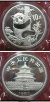 Wholesale money dating - HOT SELLING China 1987 Date Panda Coin 10 Yuan  FREE SHIPPING