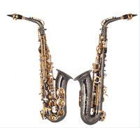 nave de la placa de níquel al por mayor-Envío gratis 2015 moda nueva llegada profesional alto Eb saxofón, alto grado de rendimiento niquelado saxofón