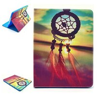 Wholesale Air Dream - FOR iPad Air Case Premium PU Leather Magnetic Smart Shell with Auto Sleep Wake Feature for Apple iPad Air Dream Catcher