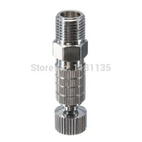 Wholesale Airbrush Adapter Connecter - Airbrush Quick Release Adapter Disconnect Coupling Connecter 1 8 inch Fittings Part Free Shipping