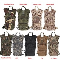 Wholesale Military Backpack Water - Military Sports Hydration Backpack Tactical Assault Outdoor Hiking Hunting Army Bag Cycling Backpack Water Pouch