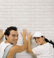 Wholesale Brick Designs - 70cm*77cm Modern 3D Design Wallpaper Brick Pattern Background Wallpaper Home Bedroom Living Room Wall Covering Decor