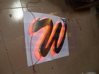 Wholesale Make Outdoor Signs - Wholesale-custom-made illuminated 3D led signs channel letters waterproof outdoors