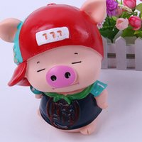 Wholesale Despicable Saving Box - Pig Shape Money Saving Box Save Of Money Moneybox Baby-Room-Decoration Coin bank Hucha Kids Toys Huchas Monedas Despicable Coin