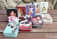 Wholesale Mini Iron Boxes - Freeshipping Vintage Style Sexy Marilyn Monroe tin box  Collectables  mini iron case storage case pills storage box  candy box