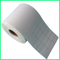 blank label stock - 30 mm roll latest high quality blank or white stock paper self adhesive sticker as barcode sticker