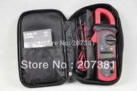 uni clamp venda por atacado-Atacado-frete grátis 1x UNI-T UT202A Braçadeira LCD Multímetro Digital AC DC tensão AC Ampere Ohm Tester *