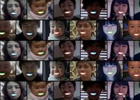 Wholesale tooth lamps - Wholesale-Newly Invented Party Fun the Light Emitting Diode LED Teeth Lamp Color Changing