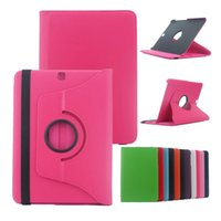 Wholesale Galaxy S2 Folio Case - For Samsung Galaxy Tab S2 T710 T810 8.0 9.7 inch 360 Degree Rotating Smart Magnetic Flip Leather Case Cover Stand