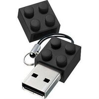 Wholesale 256gb Usb Flash Drive China - 2015 China Lego brick building block 64GB 128GB 256GB USB 2.0 usb flash drive pendrive thumb drive with epacket ship