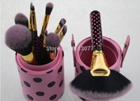 Wholesale Bh Cosmetics Brushes - 2015 new hot Professional 11 Pcs BH face care makeup Brush Cosmetic styling tools make up Brushes kit free shipping