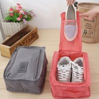 Wholesale Wholesale Price Mesh Fabric - Wholesale- Nylon Mesh Travel Portable Tote Shoes Pouch Waterproof Storage Bag 6 colors Available Retail Wholesale Price