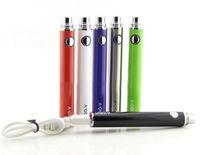 Wholesale E Cigarette Vv Pass Through - High Quality UGO-V battery with Cable Evod pass through vaporizer UGO-V 650-900 mah Evod-vv battery e cigarette for mini protank 3
