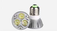 E27 E26 (GU10 E14 vorhanden) LED Spot Light 3x3w 9w Epistar Top Qualität LED Scheinwerfer Lampen Dimmble LED Birnen