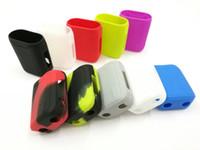 vape mod fällen taschen großhandel-Vaporesso Swag 80W Silikonhüllen Silikon Skin Tasche Gummi Hülle Schutzhülle Für Swag 80 Watt Box Mod Kit Vape 10 Farbe