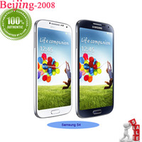 Wholesale Original refurbished Samsung galaxy S4 Quad Core I9500 i9505 G RAM G ROM quot Android x1080 Capacitive Screen Unlocked Smartphone