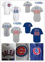 Wholesale Men S Style Embroidery Dresses - 30 Teams- Jorge Soler 68 Chicago Cubs Baseball Jerseys Size S ~xxxl Customize Embroidery Various Styles Shirt Sports Dress Free Shipping