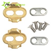 Wholesale Pedals Bikes - ROCKBROS Premium Cleats For Bike Pedals Crankbrothers Eggbeater Candy Smarty Acid Mallet Bicycle Accessories 245