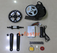 Wholesale Electric Bicycle Motor 48v - NEW 60V 650W or 48V 450W ELECTRIC BRUSHLESS MOTOR MID-MOUNTED ELECTRIC BIKE KIT Electric Bicycle Conversion Kit GNGEBIKE 650W