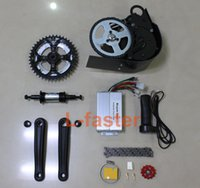 Wholesale NEW V W or V W ELECTRIC BRUSHLESS MOTOR MID MOUNTED ELECTRIC BIKE KIT Electric Bicycle Conversion Kit GNGEBIKE W