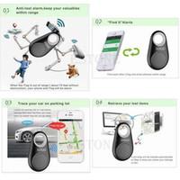 трекер b оптовых-Бесплатная Доставка Новый Смарт Bluetooth Tracer GPS Локатор Тегов Сигнализация Ключ Кошелек Pet Dog Tracker B заказать $ 18no трек