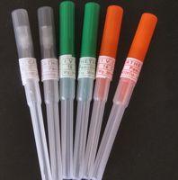 Wholesale catheter sizes - 150 pcs I.V. Catheter Body Piercing Needles with Box 14G 16G 18G 50Pcs of Each Size I.V. Catheter Body Piercing Needles