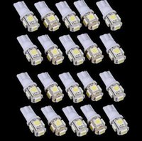 T10 5 5050 SMD Birnen Side Car LED Light 194 168 W5W 161 168 Keil-Xenon 12V weiß rot blau gelb