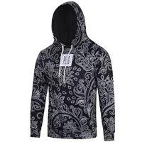 envío gratis ropa de estados unidos al por mayor-# L6091 EE. UU. Europa, estilo de los hombres ropa de moda impresión digital 3D con capucha de manga larga causal hoddies suéter tops tees envío gratis