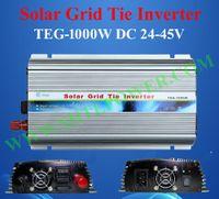 Wholesale Grid Tie Inverter Input - 24v dc input to ac 130v output solar grid tie converter,solar 1000w grid inverter
