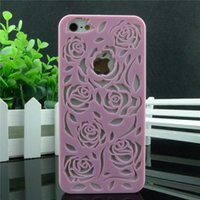 Wholesale Gel Cases For Iphone4 - Wholesale-2015 new design new arrival fashion roses TPU cover for apple iphone 4 4s 4g,Soft GEL back case cover for iphone4 iphone4s
