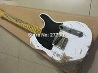 Wholesale Relic Guitars - High quality new electric guitar style handmade relic TL do old version EMS delivery can produce signature LOGO