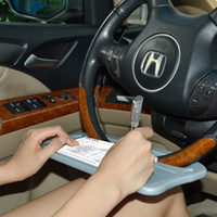 Wholesale Auto Notes - TFY Auto Steering Wheel Desk for Note Taking,Laptop or Tablet Rest, Eating