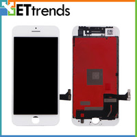Compra Lcd Display Iphone Oem-LCD OEM originale di qualità AAA per iPhone 8 LCD touch screen Digitizer Glass Assembly con telaio DHL spedizione gratuita