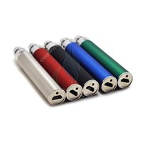 Wholesale Passthrough T2 - Evod USB Passthrough Battery 650mAh 900 mAh 1100mAh with usb charger cable fit MT3 EVOD t3s glass T2 coil head protank e cig atomizer DHL