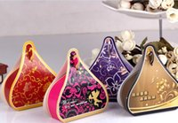 Wholesale Chocolate Candy Wholesale Prices - 2015 Hot Sale Low Price Candy Box European Creative Sweet Box Wholesale For Wedding and Festival 055