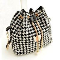 Wholesale Small Messenger Satchel - 2015 PU Leather Chain Shoulder Bag Satchel Clutch Women Handbag Bolsos Cartera Tote Purse Messenger Bags bolsas de marca