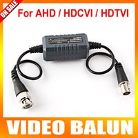 Wholesale Bnc Video Ground Loop - HD Coaxial Ground Loop Isolator Video Balun BNC Male to Female For Analog HD CCTV Camera AHD TVI CVI