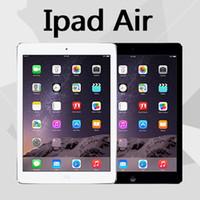 "Wholesale Retina Tablet Pc - 100% Original Refurbished Apple iPad Air 16GB 32GB 64GB Wifi iPad 5 Tablet PC 9.7"" Retina Display IOS A7 refurbished Tablet DHL"