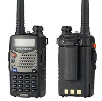 4pcs / lot walk talk Baofeng UV-5RA per la polizia Walkie Talkies Scanner Radio Vhf Uhf Dual Band Cb Ham Radio ricetrasmittente 136-174
