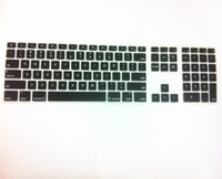 Wholesale Keyboard Skin Imac - Wholesale-For Apple iMac keyboard Desktop Color Silicone keyboard Cover Skin Protector with a numeric keypad for Apple iMac G5 G6