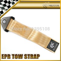 Gros-Car Styling EPR Or remorquage Eye Strap remorquage Boucle Strap Drift Rally Racing Outil d'urgence 21.5cm E36 E60 X6