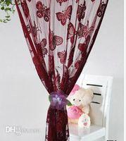 Wholesale Binding Clips - Wholesale-Free shippig-2Pcs Curtain buckle,hook flower, flower belt, Binding curtain Flower. curtain clips accessories. WS-3008