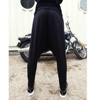 Wholesale Tongue Pant - Wholesale-Casual Red Tongue Printing Classic Trousers Harem Pants for Men jogger