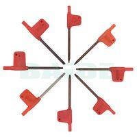 Wholesale lathe inserts - T6 T7 T8 T9 T10 T15 T20 Torx Screwdriver Lathe Turning Tool Boring Bar Wrenches for Insert Tools 1000pcs lot