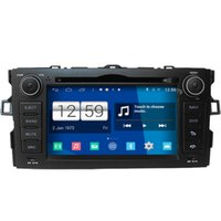 Wholesale Toyota Gps Radio System - Winca S160 Android 4.4 System Car DVD GPS Headunit Sat Nav for Toyota Auris 2007 - 2012 with Radio Wifi Player