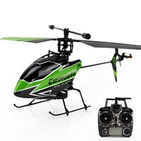 Wholesale V911 Rc Helicopter Upgrades - Wholesale-WLtoys Upgraded V911-1 Single Propeller 4CH 2.4GHz RC Helicopter Gyro RTF SHW-331252